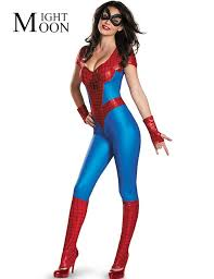 costumes for women moonight spider women costume blue suit costumes women