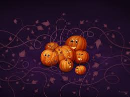 free pumpkin wallpaper backgrounds wallpapersafari