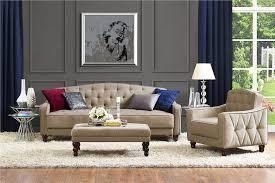Vintage Tufted Sofa dhp furniture novogratz vintage tufted sofa sleeper ii