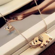 new pendant necklace images New cute elephant family design pendant necklace gear stop shop jpg