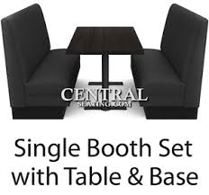 booth table for sale restaurant booths seating and table for sale set w 2 booths 1 table