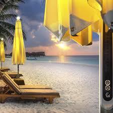 parasol patio heater commercial patio umbrella teak aluminum with heater ni
