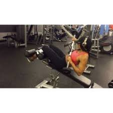 Decline Bench Leg Raises Decline Reverse Crunch Muscle Worked Abdominals This Is A