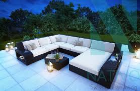canap lounge canape en rotin free canap places en rotin kubu anthracite with