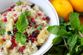 thanksgiving side salads thanksgiving side dish citrusy quinoa salad with pomegranates and