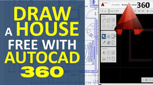 draw a house with autocad 360 make house floor plan free online draw a house with autocad 360 make house floor plan free online youtube