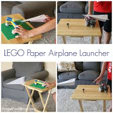 ways to build a lego paper airplane launcher