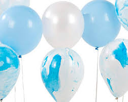 marble balloons etsy