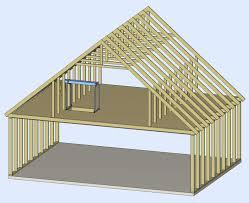 54 roof garage plans cross gable roof design detached garage