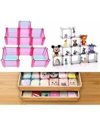 underwear organizer don t miss this deal 6 piece diy drawer organizers yosoo bra closet