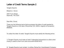 credit terms letter sample 6 credit reference letter templates