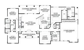 one story floor plans with bonus room one room home plans cursosfpo info