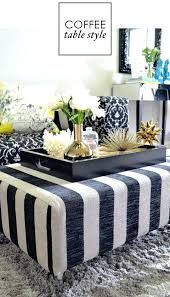 Tray Ottoman Coffee Table Lacquered Trays Ottoman Jessicastable Co