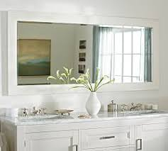 Bathroom Vanity And Mirror Bathroom Vanity Mirrors Pottery Barn