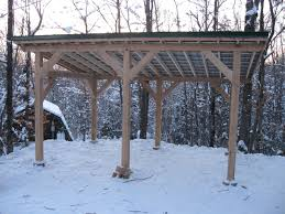 Attached Carport Designs by Timber Frame Carport Plans Timber Frame Post And Beam Carport