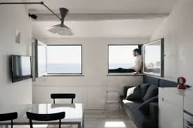 Great Small Studio Apartment Interior Design Featured On Houzr - Designing a small apartment