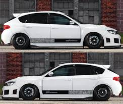 subaru drift car subaru performance sti brz wrx xv bomb stripe sticker infinity270