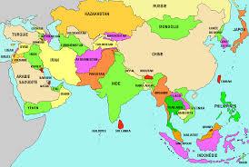 map asie stages au moyen orient et en asie thinglink