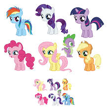 My Little Pony Gift Wrapping Paper - my little pony removable wall decal sticker set 7 5