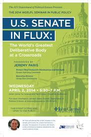 2014 woelfl seminar u201cu s senate in flux world u0027s greatest