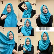 tutorial hijab pashmina untuk anak sekolah ootd hijab fashion ootdhijabfashion likes askfm