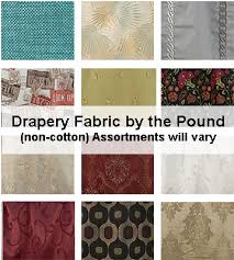 Drapery And Upholstery Fabric Non Cotton Drapery Light Upholstery Fabric By The Pound Goody