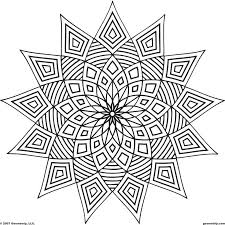printable coloring pages for adults geometric easy geometric pattern coloring pages for adults 1000 images