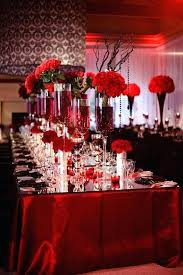 Wedding Reception Centerpieces Black White And Red Wedding Reception Decorations Ideas Black And