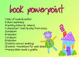 book report powerpoint template a time to share and create book