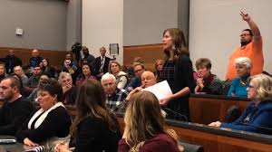 Flipping Out Ryan Brown by Teacher U0027s Town Hall Question Goes Viral Cnn