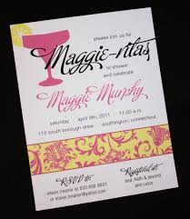 pink and yellow floral damask margarita bridal shower