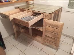 Pallet Kitchen Island Pallets Kitchen Installations Pallet Furniture Projects