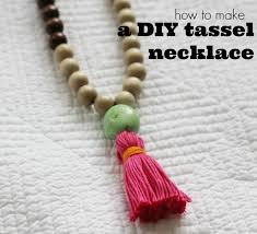 tassel necklace make images Diy try how to make a tassel necklace chic everywhere jpg