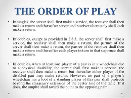 Table Tennis Doubles Rules The Laws Of Table Tennis