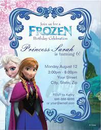 8 frozen party invitation templates free editable psd ai
