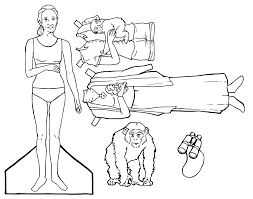 scientist paper dolls engage their minds