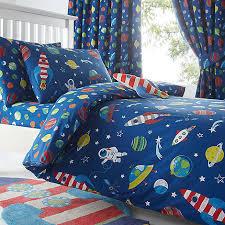 Duvet Covers Debenhams Bluezoo Kids U0027 Blue Space Print Duvet Cover And Pillow Case Set