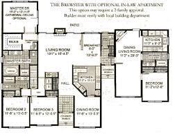 Multi Unit Apartment Floor Plans Images About Home Plans With Inlaw Suite On Pinterest In 1 Story