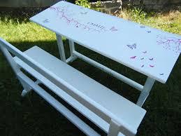 bureau écolier relooké bureau d écolier relooké meuble relooking violets