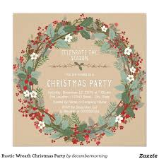 Christmas Party Invitations With Rsvp Cards - 202 best christmas party invitations images on pinterest