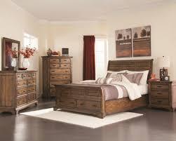 Ashby Bedroom Furniture Ashby Modern Brown Wood Sleigh Storage Bedroom Furniture