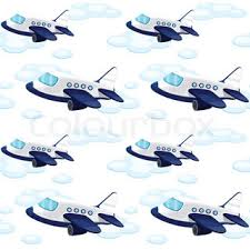 cheerful cartoon airplane stock vector colourbox