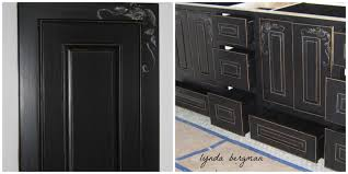 Painting Kitchen Cabinets Black Distressed by Painting Kitchen Cabinets Silver U2013 Quicua Com