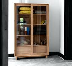 Bookcases With Glass Bookcase Cherry Wood Bookcases Glass Doors Wooden Bookcase With