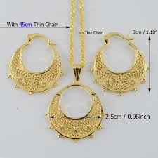girl necklace size images Small size ethiopian set jewelry necklace earrings kids silver jpg