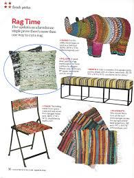sewing and crafts rag rug pillow chic tweaks alterations u0026 crafts