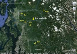 Map Sliding Thought Blog by Seismic Signals Generated By The March 22nd Oso Landslide