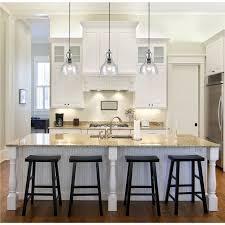 island lighting kitchen pendant lights amazing clear glass pendant lights for kitchen