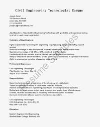 Resume Samples Qualification Highlights by 38 Professional Experience Civil Engineer Resume Templates