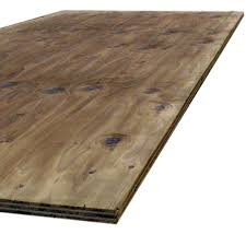 11 32 in or 3 8 in x 4 ft x 8 ft bc sanded pine plywood 166022